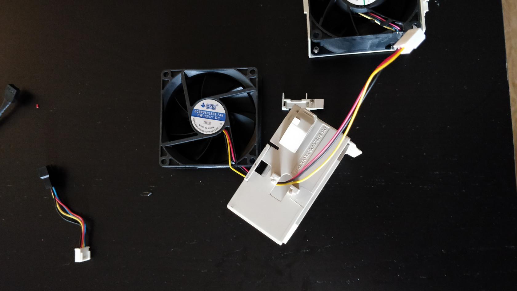install custom fan